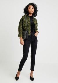 New Look - HIGHWAIST - Jeans Skinny - black - 1
