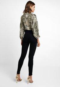 New Look - DISCO - Jeans Skinny Fit - black - 3