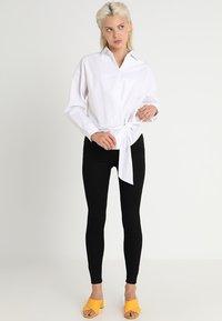 New Look - HIGHWAIST SKINNY - Jeans Skinny Fit - black - 1