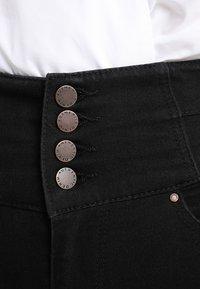 New Look - HIGHWAIST SKINNY - Jeans Skinny Fit - black - 6