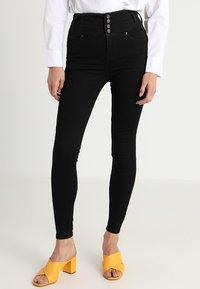 New Look - HIGHWAIST SKINNY - Jeans Skinny Fit - black - 0