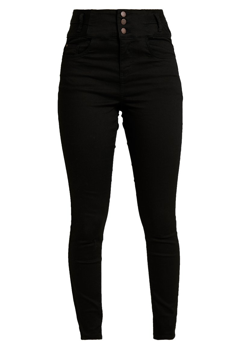 New Look - SUPER - Jeans Skinny Fit - black
