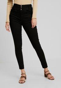 New Look - SUPER - Jeans Skinny Fit - black - 2