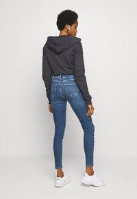 New Look - VINTAGE DISCO BUSTED KNEE KATHY - Jeans Skinny - teal - 2