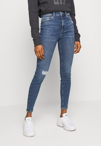 New Look - VINTAGE DISCO BUSTED KNEE KATHY - Jeans Skinny - teal - 0