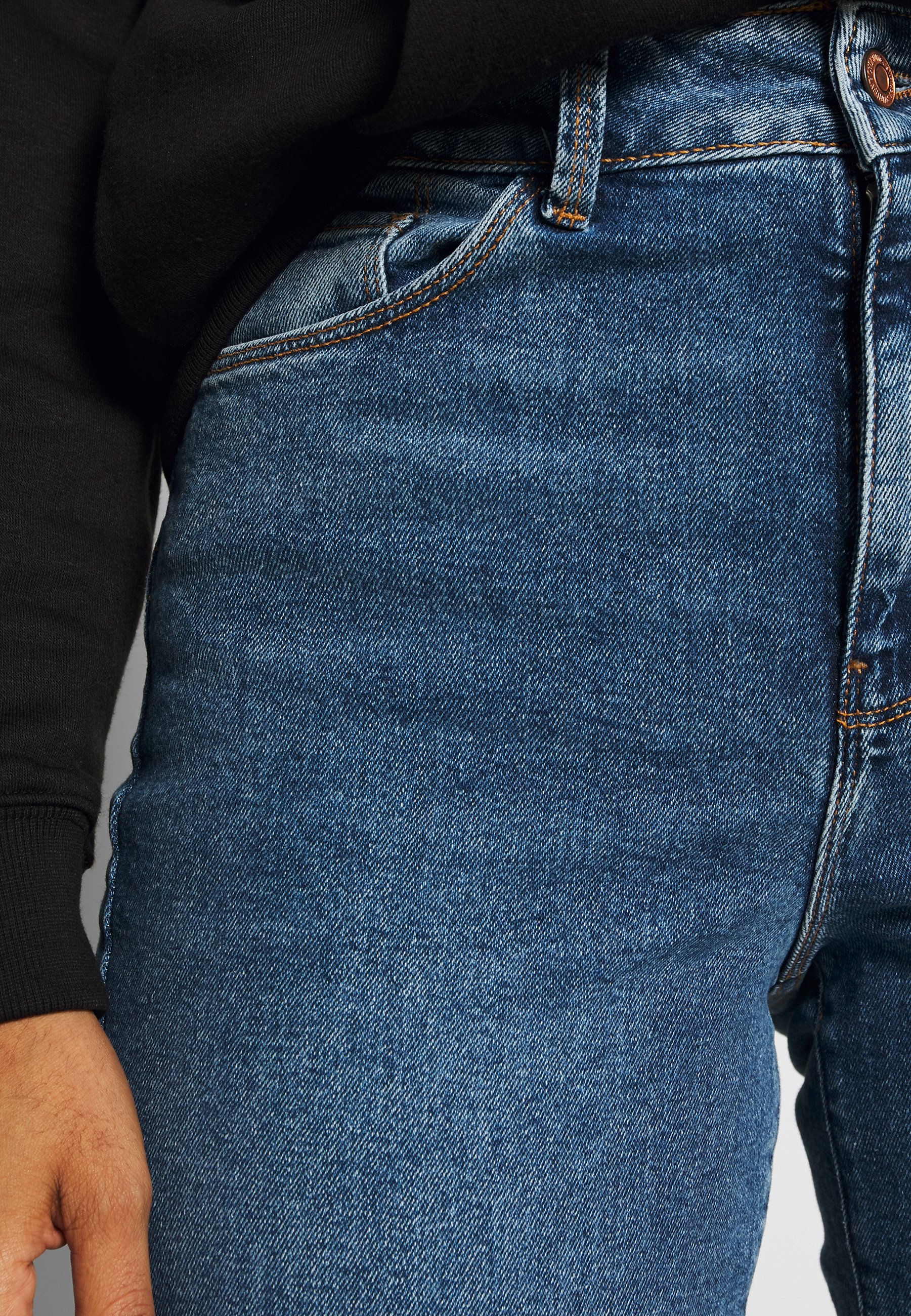 New Look WAIST ENHANCE  - Jeansy Slim Fit - mid blue
