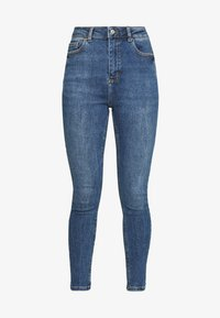 New Look - CLEAN DISCO BRANNING - Jeans Skinny - mid blue - 4