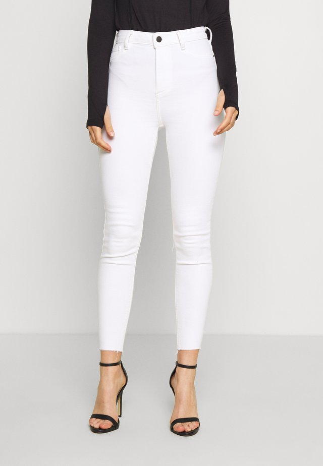 DISCO MILAN - Jeans Skinny Fit - white