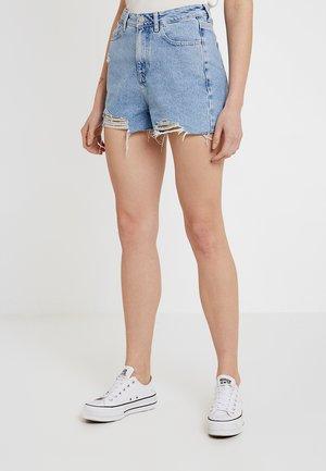 EXTREME RIP MOM AMELIE - Denim shorts - light blue