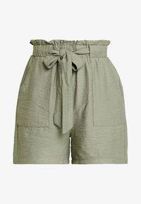 New Look - JANE PAPERBAG  - Shorts - dark khaki - 3