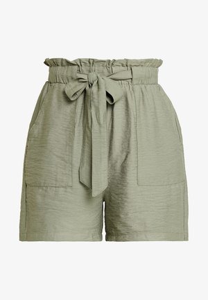 JANE PAPERBAG  - Shorts - dark khaki
