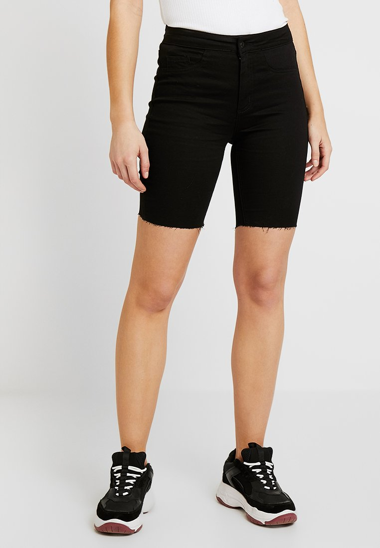 New Look - Jeans Shorts - black