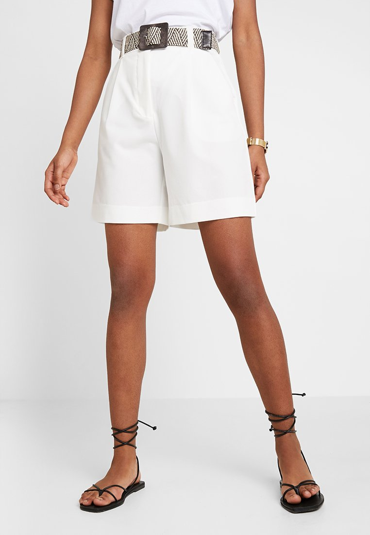 New Look - BELTED CITY - Shorts - white