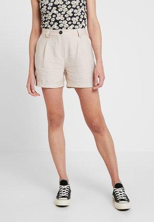 JANE CITY - Shorts - stone