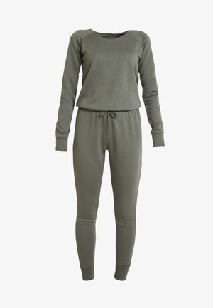 CREW NECK - Jumpsuit - dark khaki