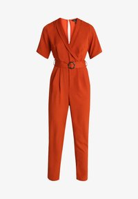New Look - BONE REVERE COLLAR WRAP  - Haalari - burnt orange - 4