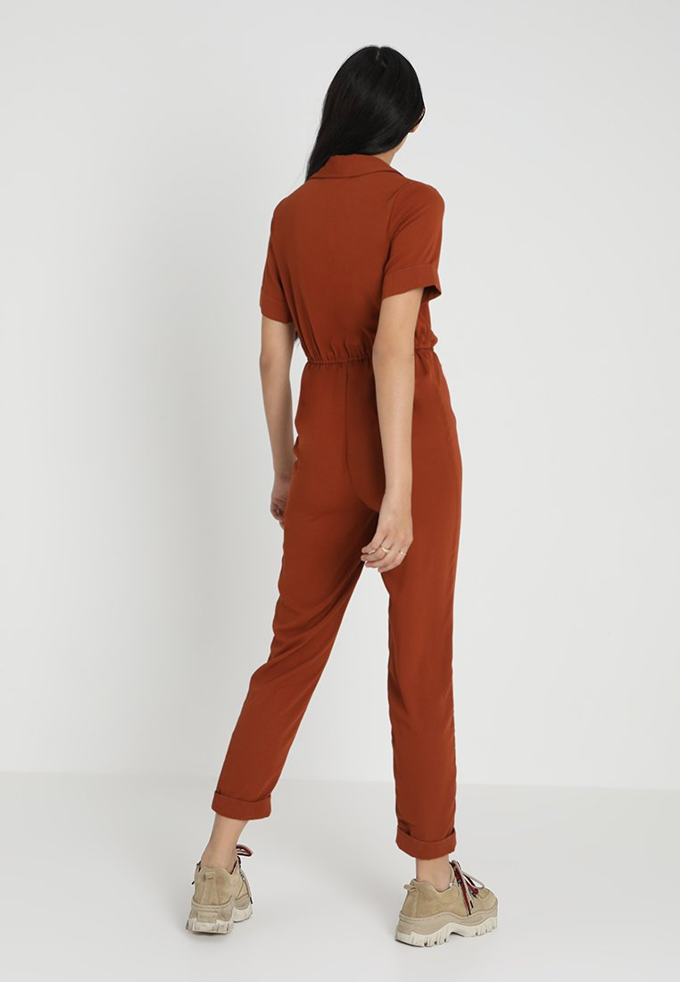 New Look TOGGLE WRAP - Tuta jumpsuit rust