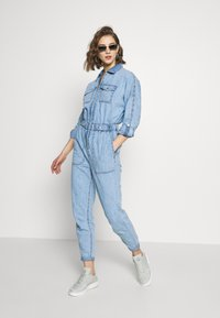New Look - ARCHWAY - Combinaison - light blue - 1