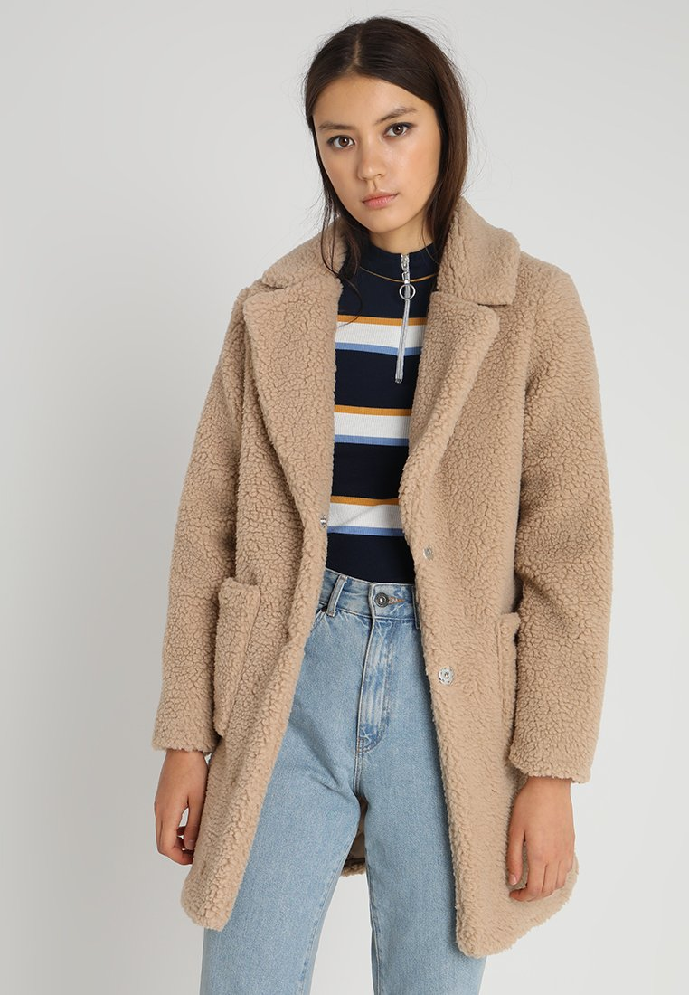 New Look - TEDDY  - Cappotto invernale - biscuit