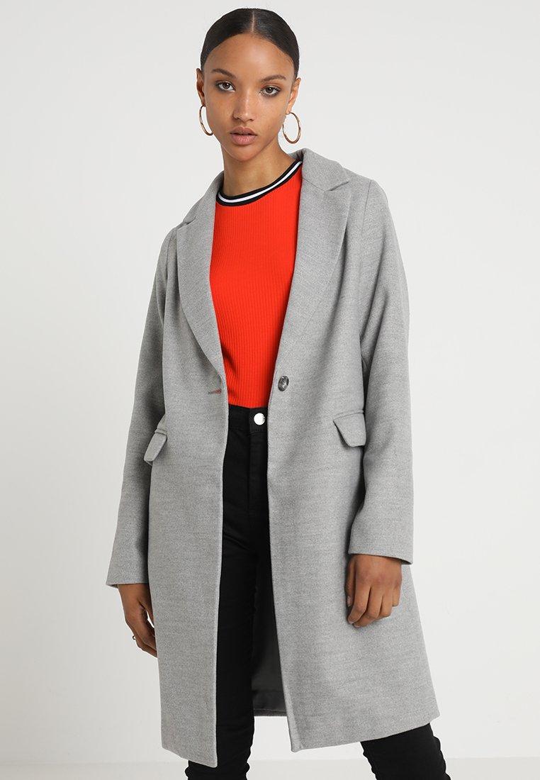 New Look - LEAD IN COAT - Abrigo - grey