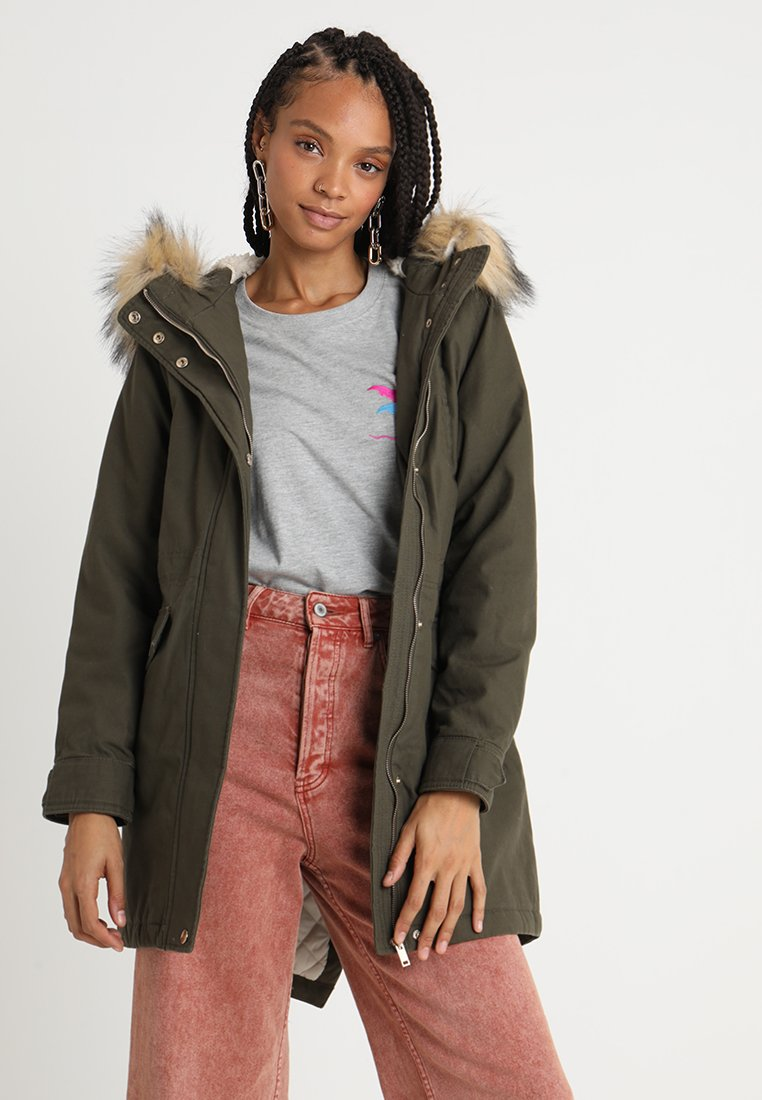 New Look - CHICAGO - Parka - khaki