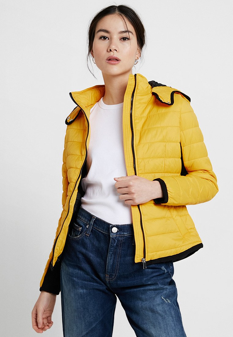 New Look - PHEOBE PUFFER - Light jacket - dark yellow