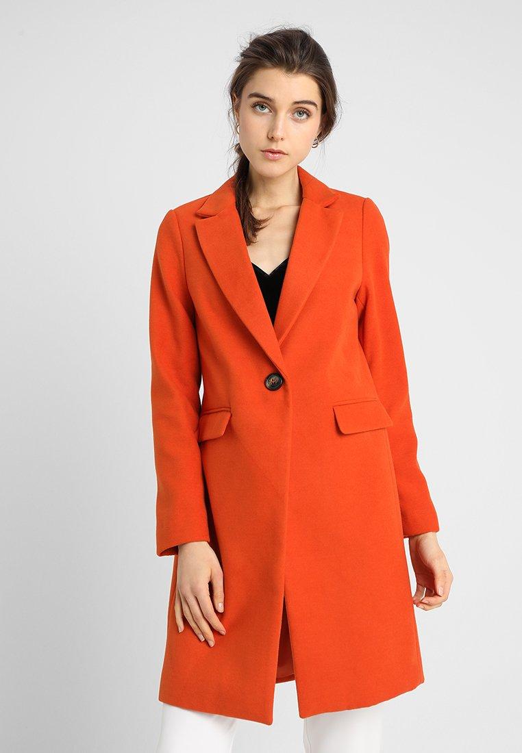 New Look - LEAD IN COAT  - Halflange jas - orange
