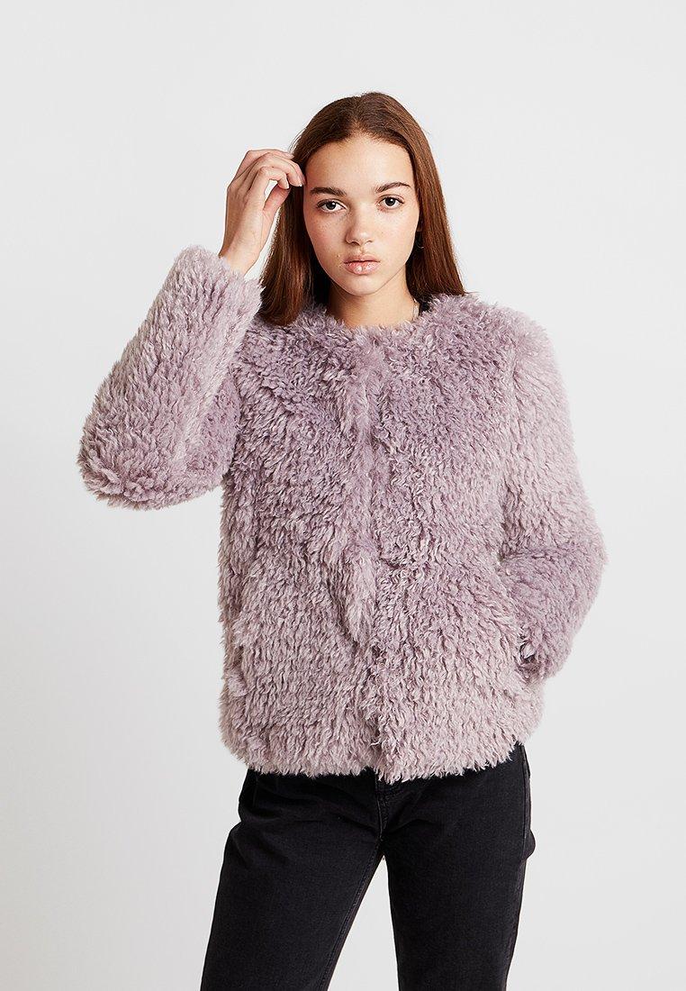 New Look - CURLY COAT - Winterjacke - lilac