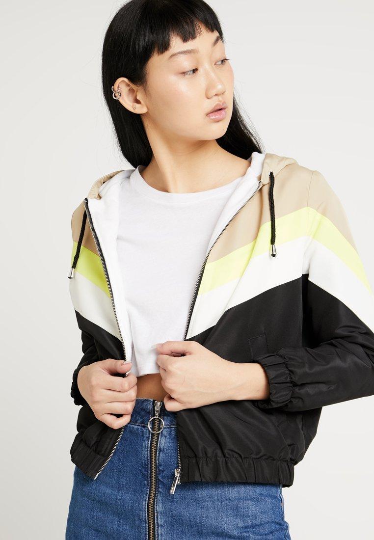 New Look - COLOURBLOCK LINED - Light jacket - camel