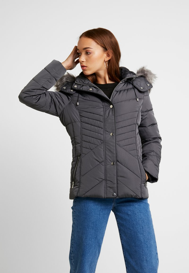 New Look - FITTED PUFFER - Übergangsjacke - grey
