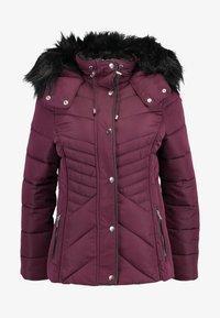 New Look - FITTED PUFFER - Lehká bunda - burgundy - 6