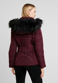New Look - FITTED PUFFER - Lehká bunda - burgundy - 2