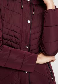 New Look - FITTED PUFFER - Lehká bunda - burgundy - 4