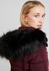 New Look - FITTED PUFFER - Lehká bunda - burgundy - 5