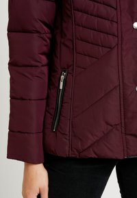New Look - FITTED PUFFER - Lehká bunda - burgundy - 7