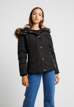 FITTED PUFFER - Jas - black