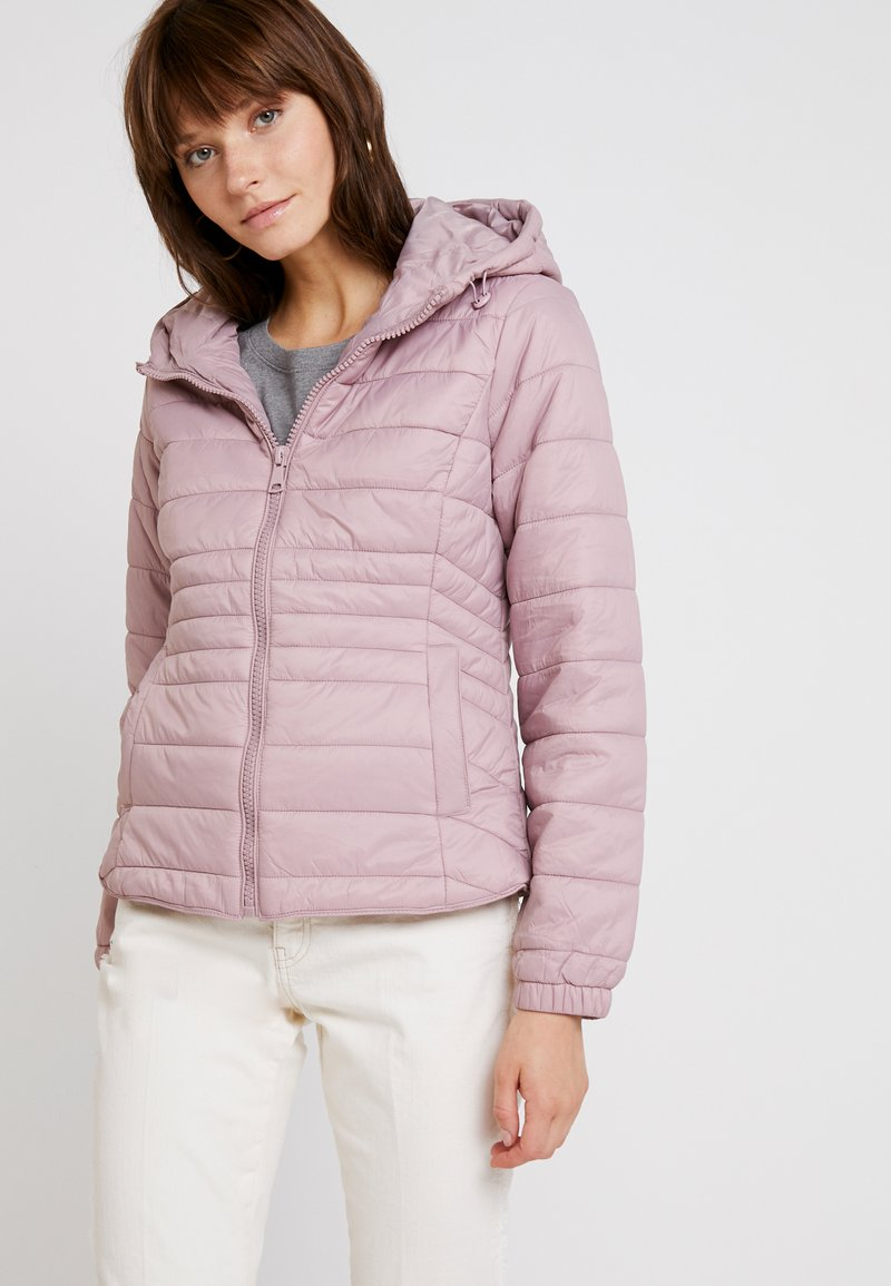 New Look - NEW PUFFER - Lehká bunda - shell pink