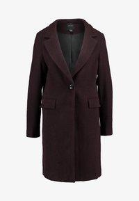 New Look - LEAD IN COAT - Halflange jas - burgundy - 3