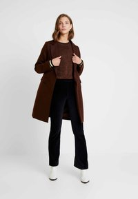 New Look - LEAD IN COAT - Manteau court - brown
