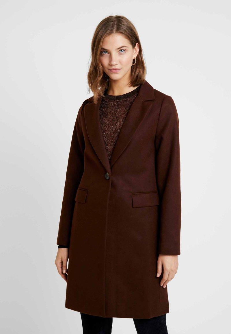 New Look - LEAD IN COAT - Short coat - brown