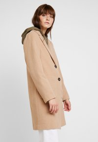 New Look - LEAD IN COAT - Kort kåpe / frakk - oatmeal - 0