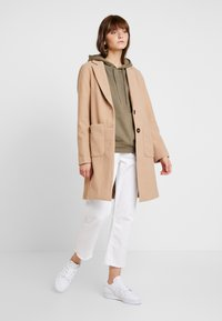 New Look - LEAD IN COAT - Kort kåpe / frakk - oatmeal - 1