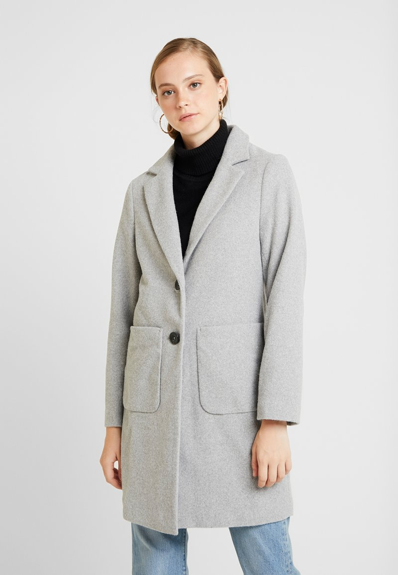New Look - LEAD IN COAT - Abrigo corto - light grey