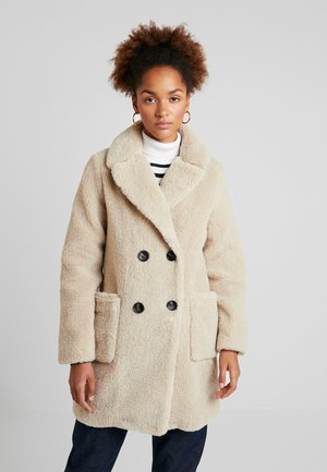 COAT - Winter coat - cream