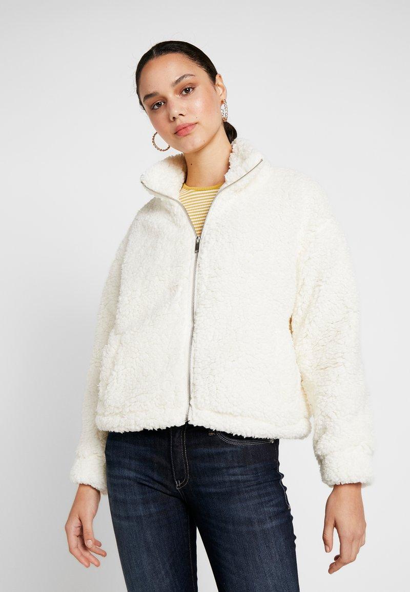 New Look - ZIP THROUGH - Übergangsjacke - off white