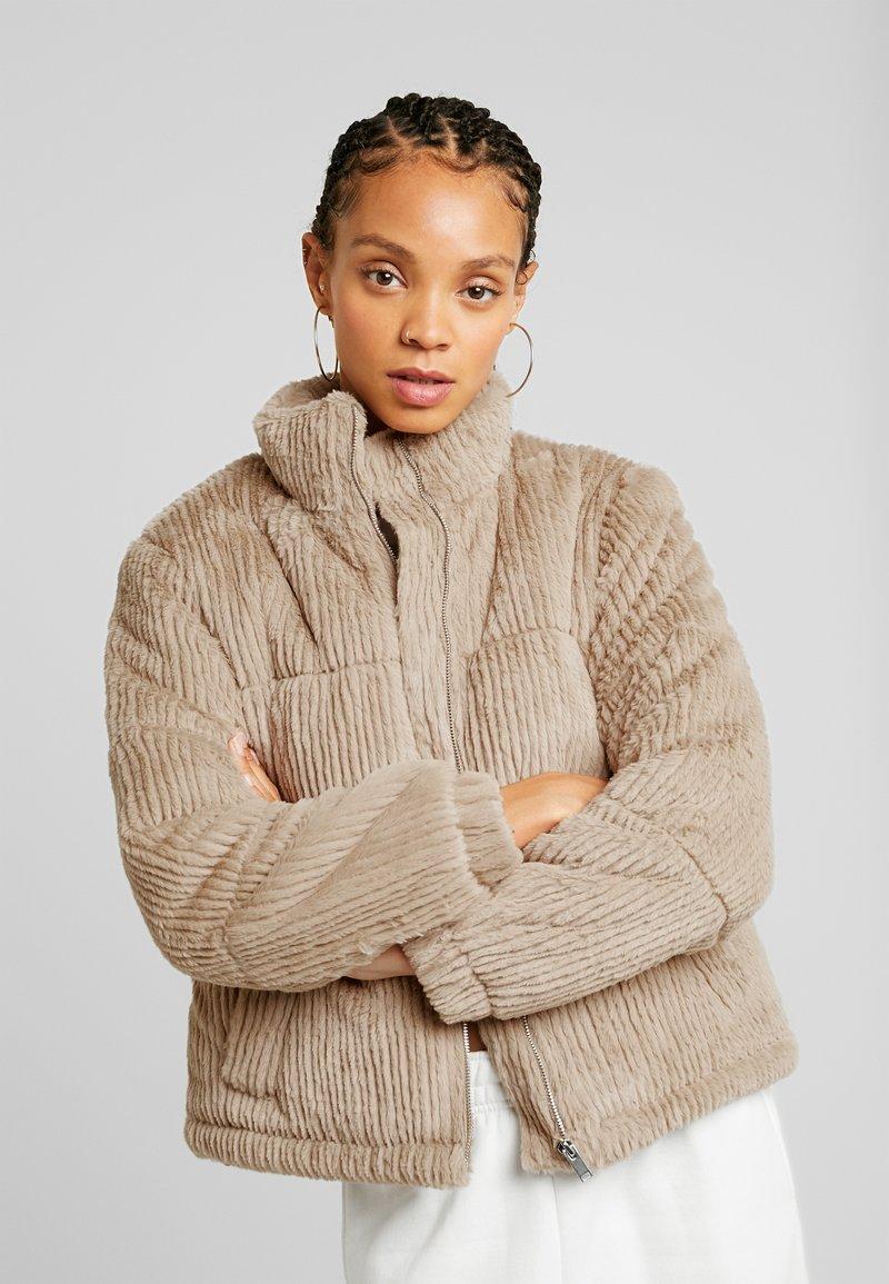 New Look - Winter jacket - camel