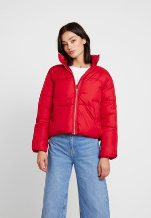 KELIS BOXY PUFFER - Winter jacket - red