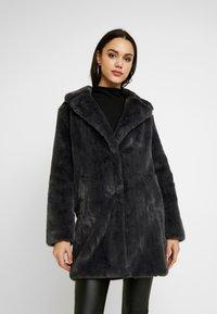 New Look - Krátký kabát - dark grey - 0