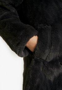 New Look - Krátký kabát - dark grey - 5