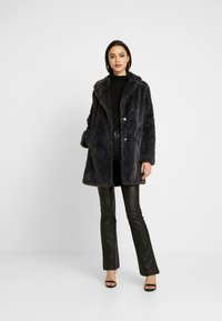 New Look - Krátký kabát - dark grey - 1